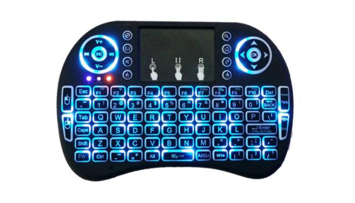 Draadloos toetsenbord (Blacklight)